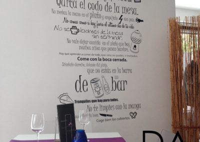 """Reforma de restaurante """"El Secreto de María"""""""